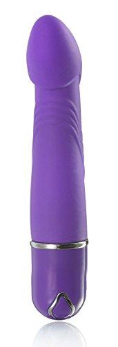 Deluxe Vibrator silky soft, G Punkt Vibrator aus Silikon - 4