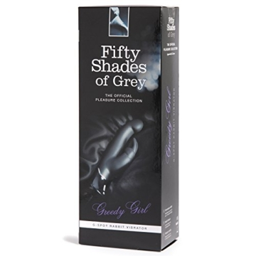 Fifty Shades of Grey Aufladbarer Rabbit Vibrator - Greedy Girl - 5