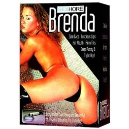 Seven Creations Liebespuppe Brenda mit Vibration und Pumpe - 1