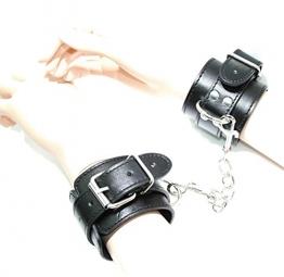 Arunta® Robuste Handschellen mit Karabiner Handfesseln Bondage Sex Fessel - 1
