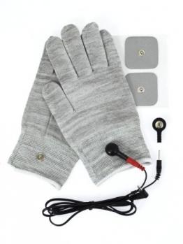 Rimba Elektro Sex Handschuhe, uni-polair, inklusiv Zubehör und Gebrauchsanweisung - 1