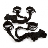 Spreader With Bungee Straps - Black