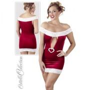 Xmas Kleid SantaHeart Größe:XL